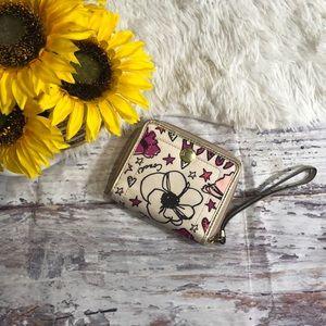 Coach Floral Wallet wristlet
